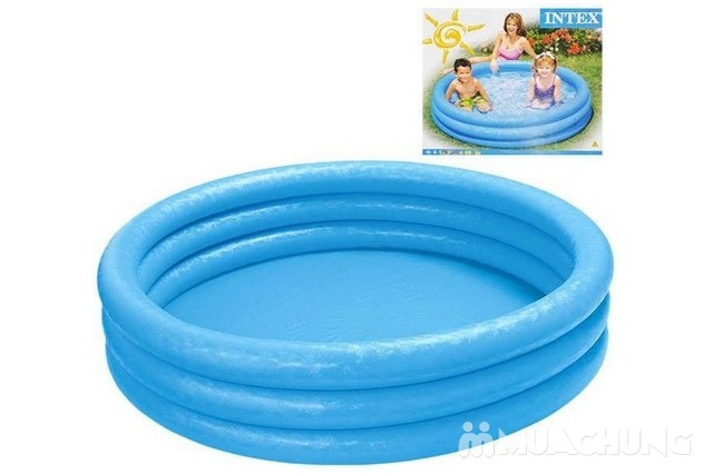 Bể bơi Intex 58426 3 tầng màu xanh  - 6
