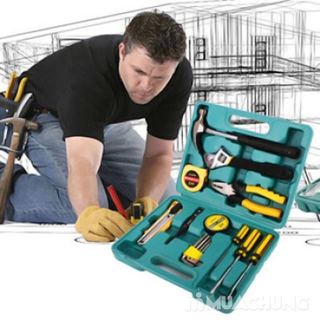 Bộ dụng cụ sửa chữa đa năng 16 món tiện dụng - 7