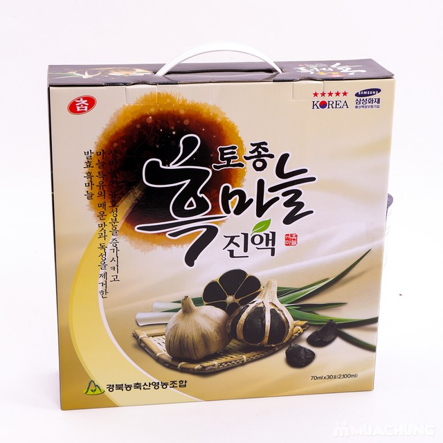 Nước tỏi đen Hàn Quốc - Thực phẩm bảo vệ sức khỏe - 13