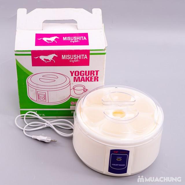 Máy làm sữa chua 6 cốc hình trái tim Misushita - 5