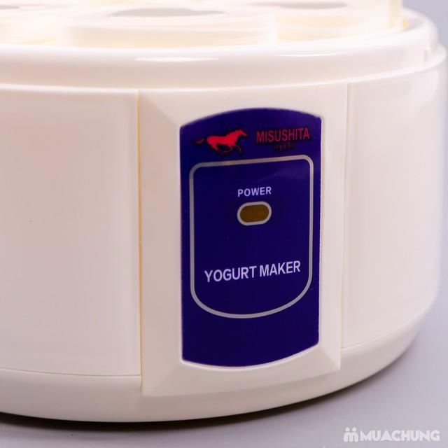 Máy làm sữa chua 6 cốc hình trái tim Misushita - 10