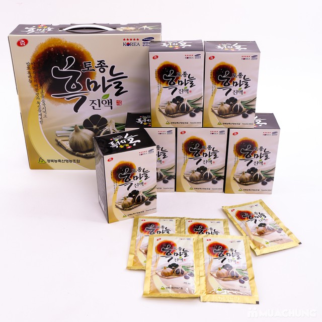 Nước tỏi đen Hàn Quốc - Thực phẩm bảo vệ sức khỏe - 7