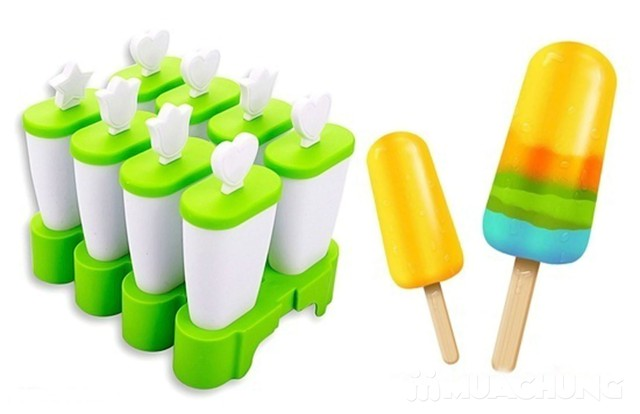 Combo 2 bộ khuôn làm kem Ice Block loại dày - 2