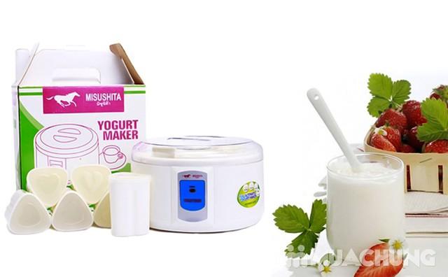 Máy làm sữa chua 6 cốc hình trái tim Misushita - 2