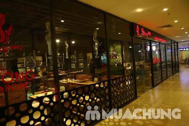 Buffet Lẩu nướng Singapore BBQ - Mừng khai trương - 35