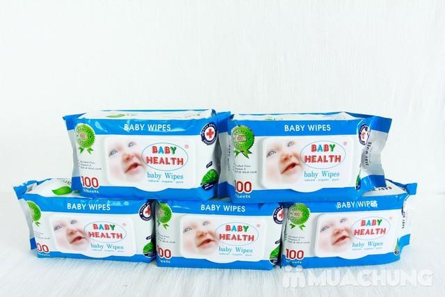 Combo 5 gói khăn ướt Baby Health loại 100 tờ - 6