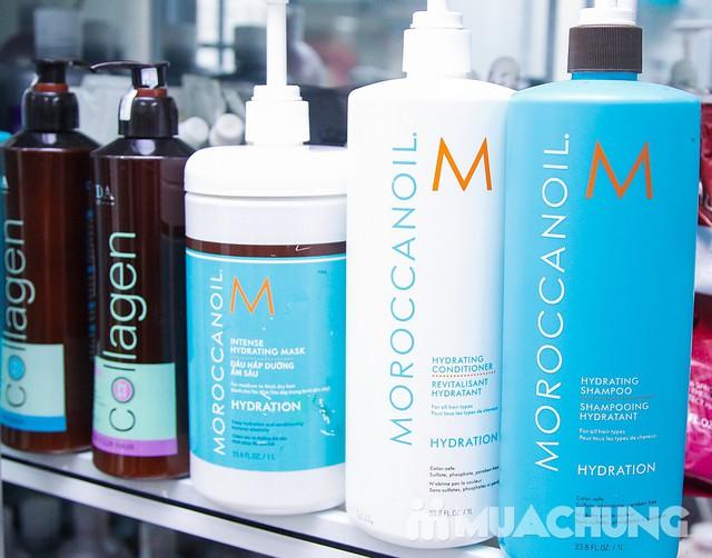 Trọn gói Uốn/Nhuộm/Ép tại Long Nguyễn Hair Salon - 7