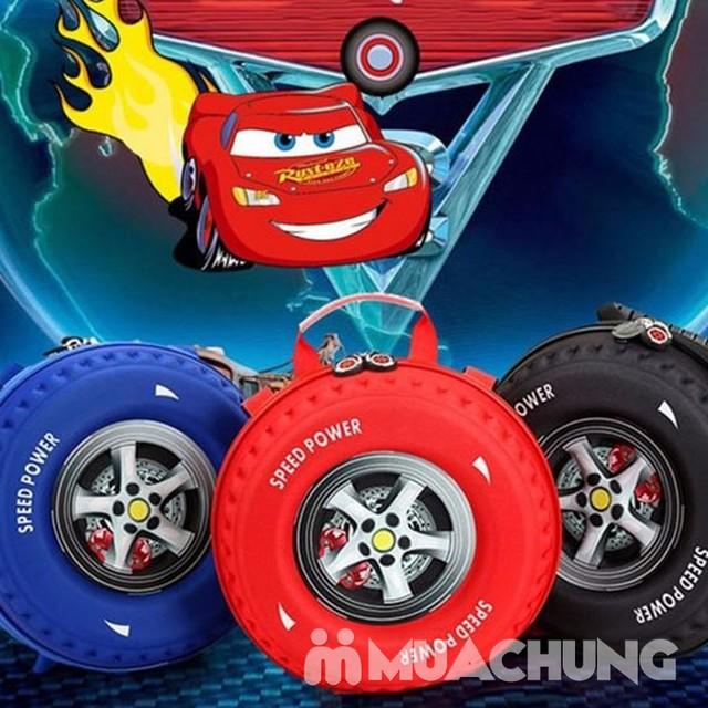 Ba lô hình bánh xe ngộ nghĩnh cho bé - 18