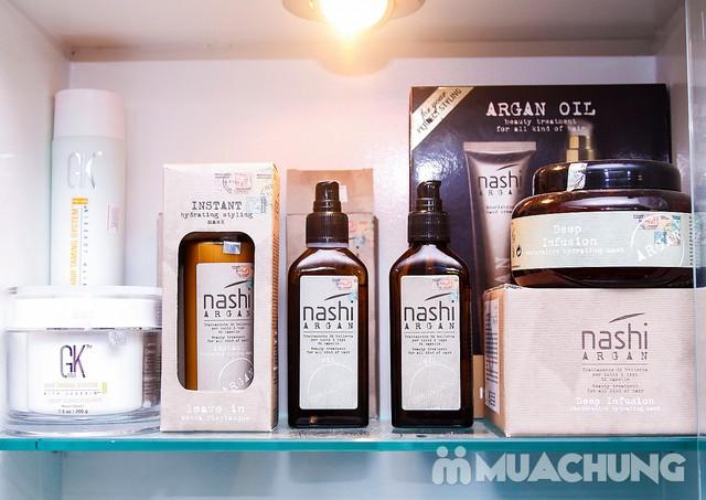Trọn gói Uốn/Nhuộm/Ép tại Long Nguyễn Hair Salon - 8
