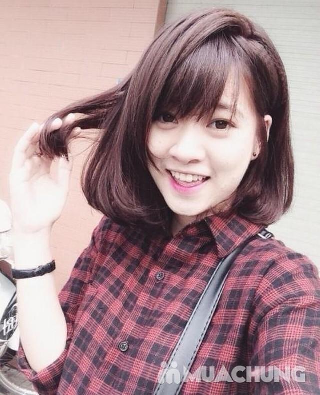 Trọn gói Uốn/Nhuộm/Ép tại Long Nguyễn Hair Salon   - 5