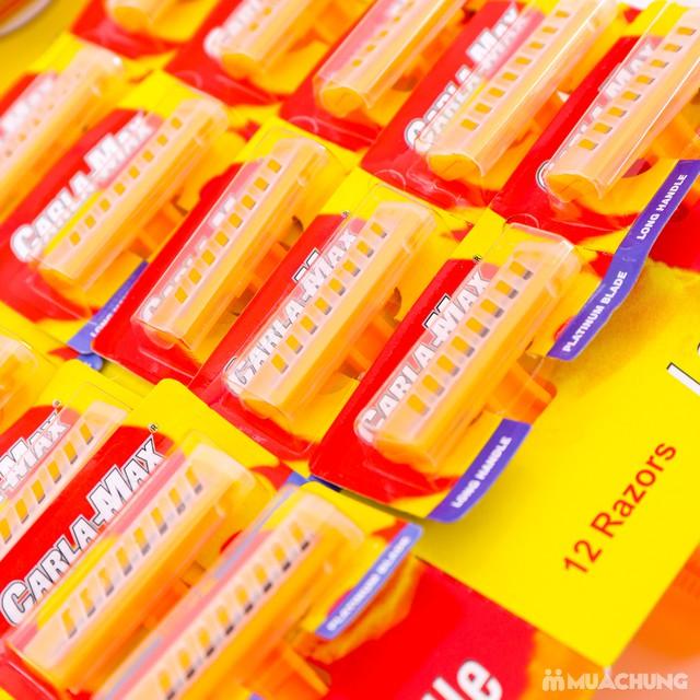 Dao cạo râu Carle-Max lưỡi kép - Vỉ 24 chiếc - 8