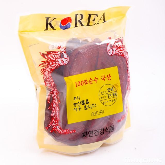 Nấm linh chi đỏ cao cấp Hàn Quốc tặng kẹo hồng sâm - 10