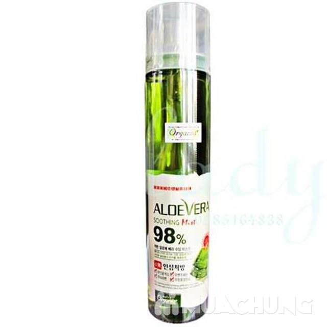 Xịt khoáng lô hội White Organia Good Nature Aloe - 2