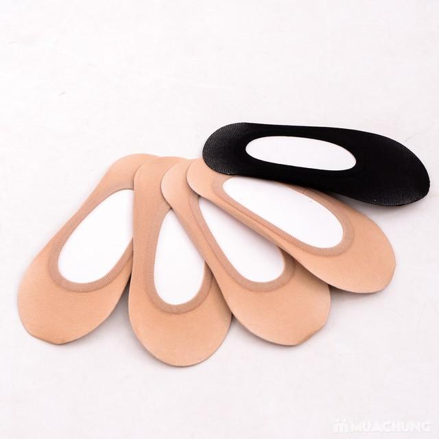 Combo 5 đôi tất hài cotton thoáng mát, chống trượt - 5