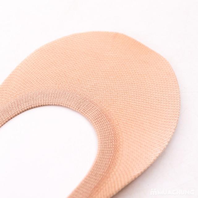 Combo 5 đôi tất hài cotton thoáng mát, chống trượt - 2
