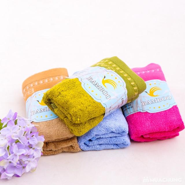 4 khăn mặt Bamboo 100% cotton mềm mại, an toàn - 2