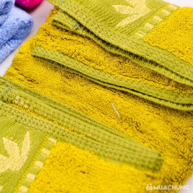 4 khăn mặt Bamboo 100% cotton mềm mại, an toàn - 4