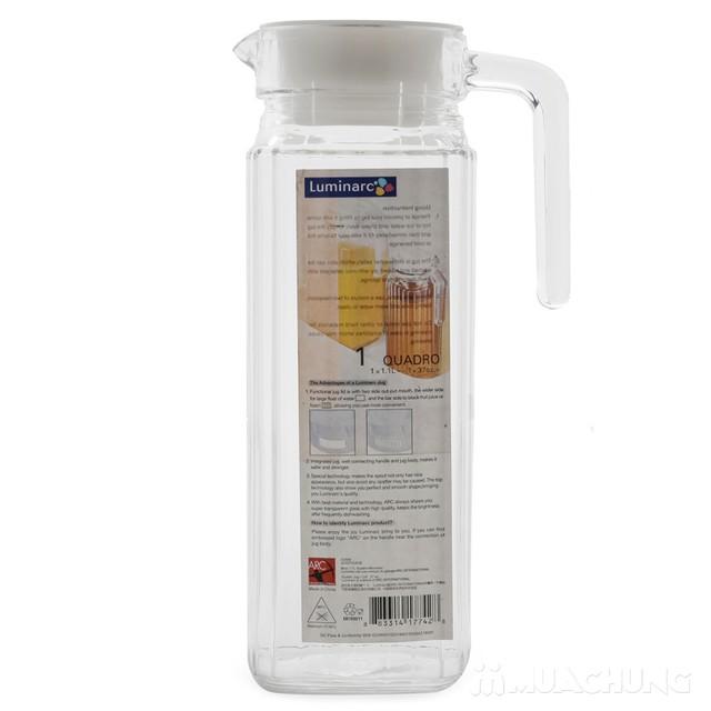 Bình uống nước cài cánh tủ Luminarc 1,2L - 4
