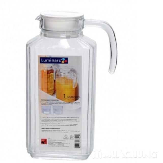 Bình uống nước cài cánh tủ Luminarc 1.7L - 4