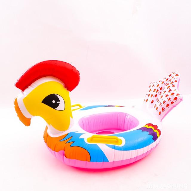 Phao bơi xỏ chân hình thú ngộ nghĩnh cho bé - 7