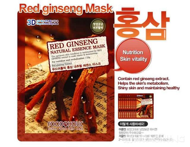 Mặt nạ hồng sâm 3D Red Ginseng - 3