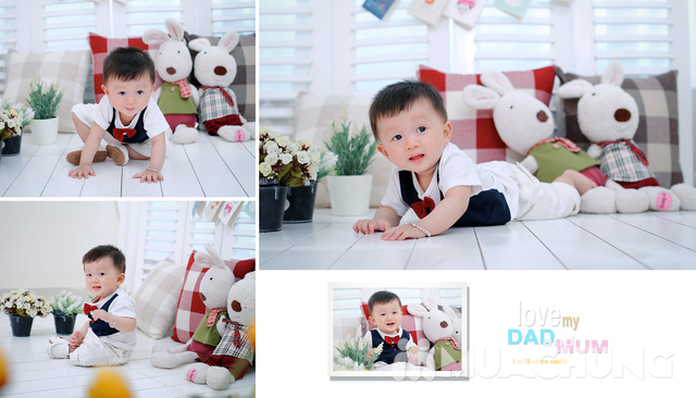 Gói chụp hình bé yêu tại Herbi Studio - giảm giá cực sốc duy nhất chỉ có tại MuaChung - 16