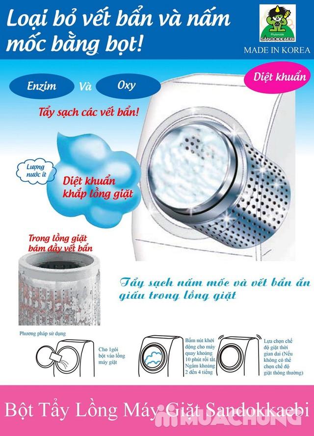 Bột tẩy vệ sinh lồng máy giặt Hàn Quốc gói 450gr - 6