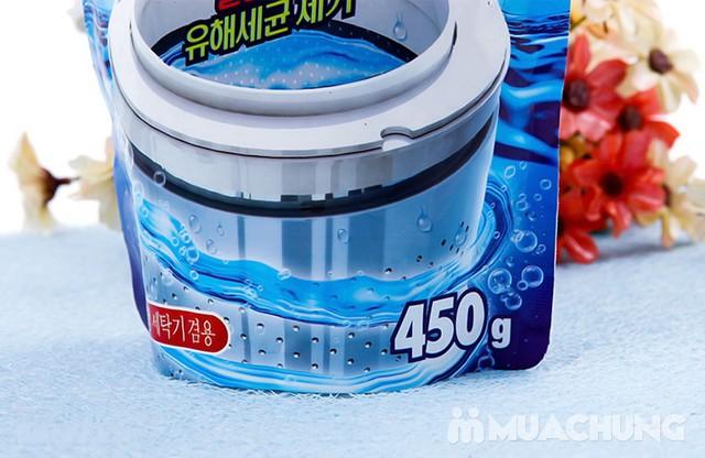 Bột tẩy vệ sinh lồng máy giặt Hàn Quốc gói 450gr - 10