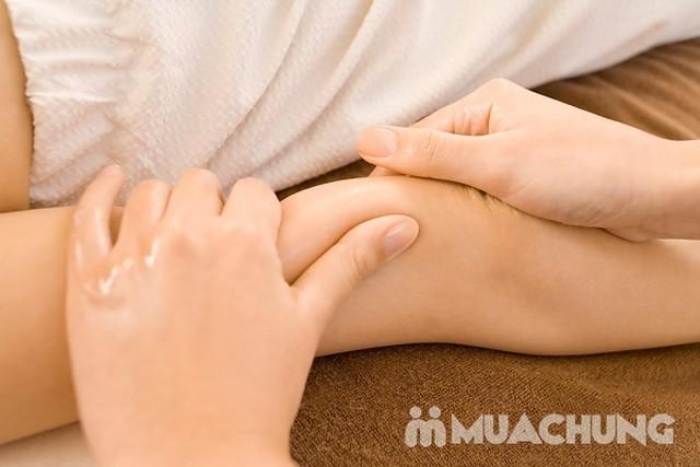 Massage chân thư giãn kết hợp đá nóng lưng 90' Foot & Body Massage - 8