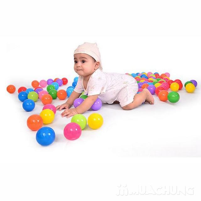100 bóng nhựa nhiều sắc màu cho bé yêu - 7