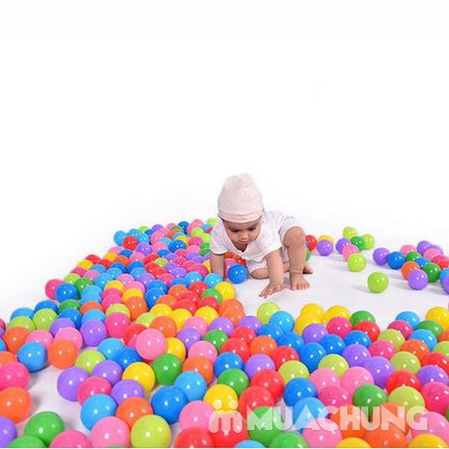 100 bóng nhựa nhiều sắc màu cho bé yêu - 5