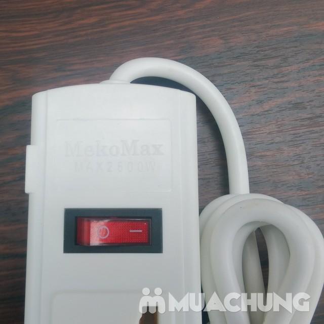 Ổ cắm điện sứ 4 lỗ chống cháy Mekomax - 5