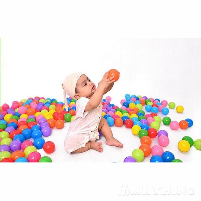 100 bóng nhựa nhiều sắc màu cho bé yêu - 6