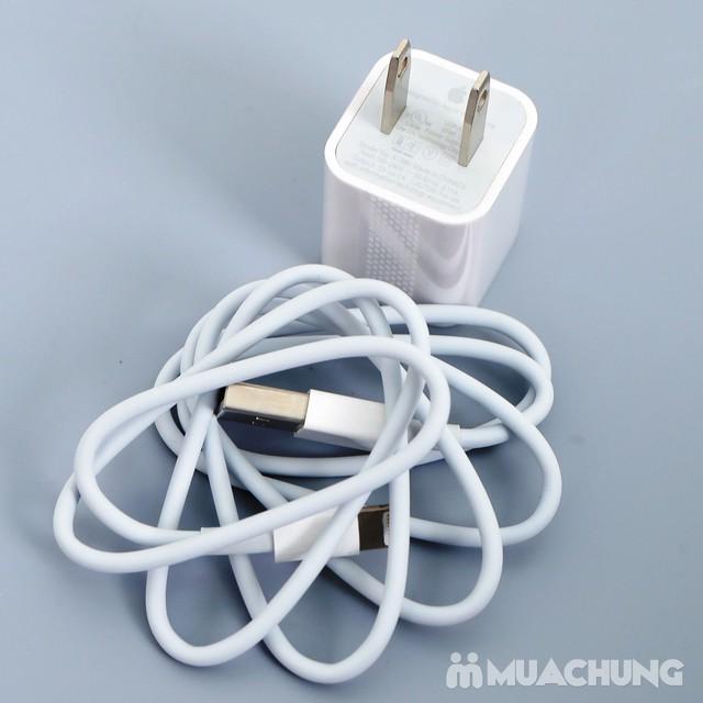 Combo Dây củ sạc kèm ốp silicon iPhone 5 hoặc 6 - 9