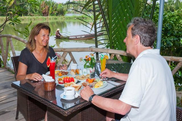 Muca Hội An Boutique Resort & Spa 4* - Không gian xanh bên sông - 9
