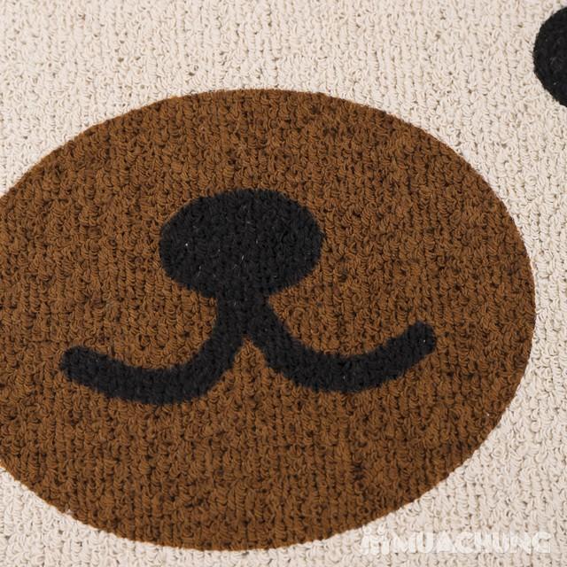Combo 2 thảm lau chân Carmi hình gấu xinh xắn - 6