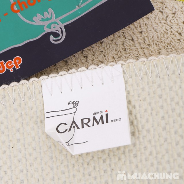 Combo 2 thảm lau chân Carmi hình gấu xinh xắn - 4