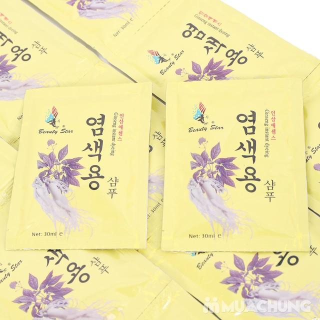 20 gói dầu gội đen tóc thảo dược - NK Hàn Quốc - 6