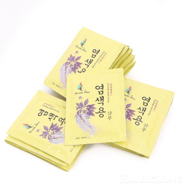 20 gói dầu gội đen tóc thảo dược - NK Hàn Quốc - 3