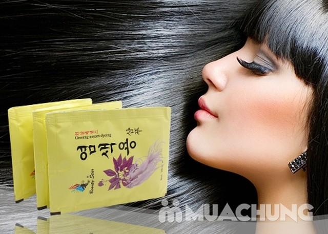 20 gói dầu gội đen tóc thảo dược - NK Hàn Quốc - 1