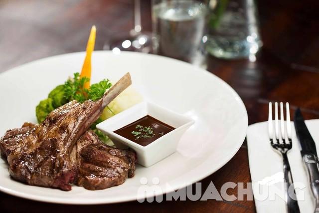 Voucher thưởng thức bò Úc, cừu nướng kiểu châu Âu - 2