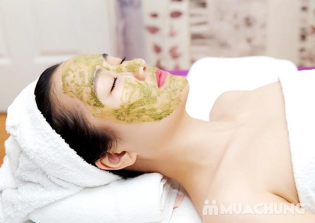 Massage body tinh dầu, thải độc tặng đắp mặt nạ - 7