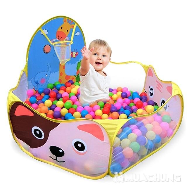 100 quả bóng nhựa nhiều màu sắc cho bé vui chơi - 2