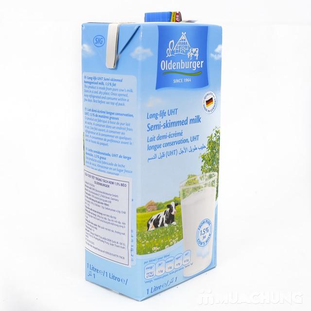 6 hộp sữa tươi tách kem Oldenburger - NK Đức - 12