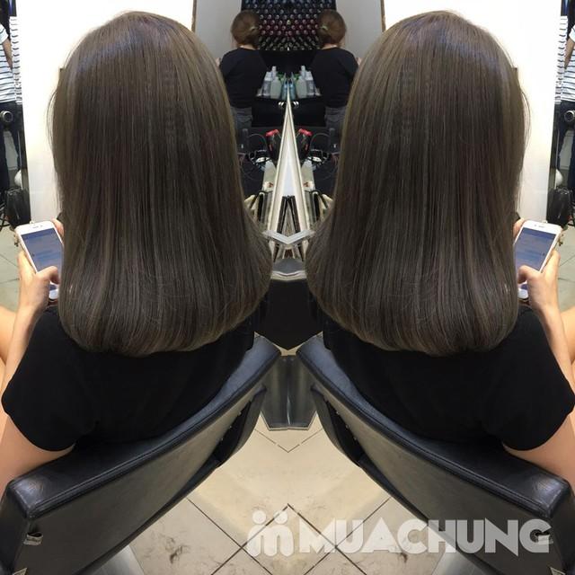 Trọn gói nhuộm/ép/uốn cao cấp- Hair Salon Nam Phạm - 20