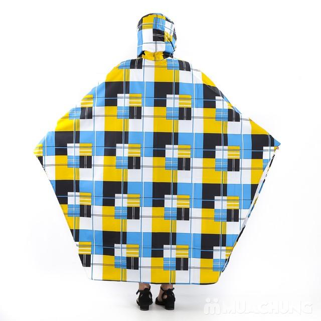 Áo mưa cánh dơi họa tiết, siêu nhẹ Tumi  - 6