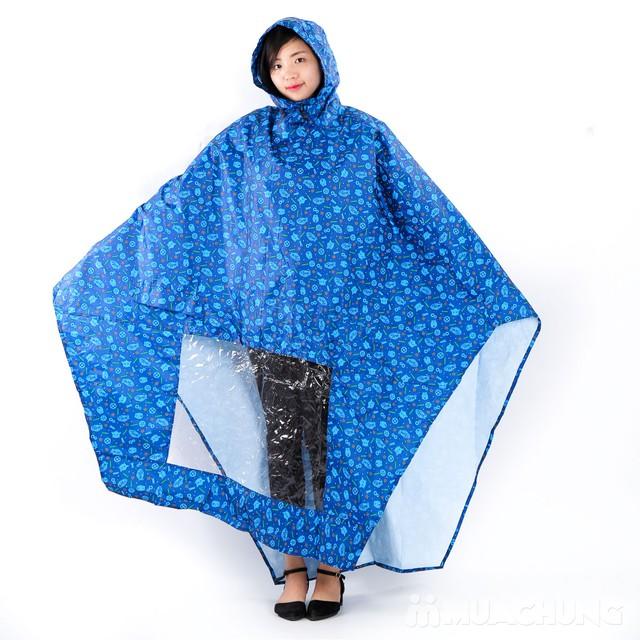 Áo mưa Tumi 2 đầu tiện lợi, nhiều họa tiết - 1