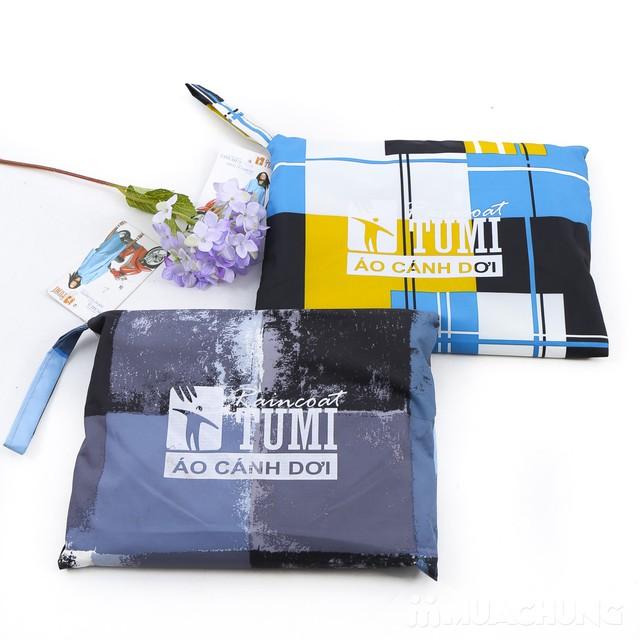 Áo mưa cánh dơi họa tiết, siêu nhẹ Tumi  - 9