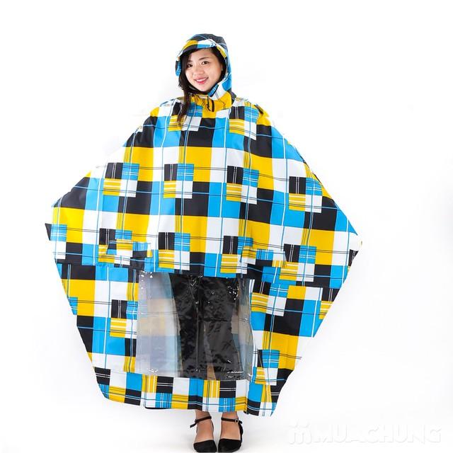 Áo mưa cánh dơi họa tiết, siêu nhẹ Tumi - 2