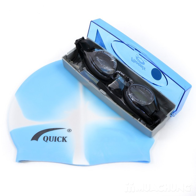 Sét mũ, kính bơi Hàn Quốc Phoenix PN-203 - 6
